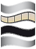 Set of films | Stock Vector Graphics