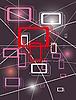 Векторный клипарт: Абстрактный фон из геометрических фигур