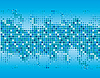 Vector clipart: Abstract background of blue squares