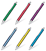 Vector clipart: collection of pens