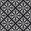 Vector clipart: Seamless background of black and white