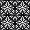 Векторный клипарт: Бесшовные фон черный и белый