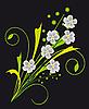 Векторный клипарт: Букет цветов