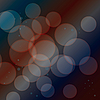 Vector clipart: Abstract background from transparent circles