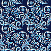 Vector clipart: Seamless background is blue and white