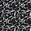Vector clipart: Seamless background black and white