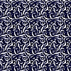 Vector clipart: Seamless background blue and white