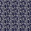 Векторный клипарт: Бесшовные фон голубой и белый