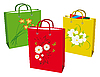 Vector clipart: bags for shopping