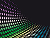 Vector clipart: Abstract background of geometric shapes