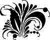Векторный клипарт: традиционный хохломской орнамент