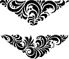 Vector clipart: Russian traditional Hohloma ornament
