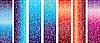 Векторный клипарт: вертикальные баннеры с завитками