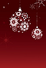 Vector clipart: Snowflakes backgrounds