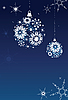 Snowflake`s backgrounds | Stock Vector Graphics