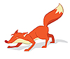 Vector clipart: Red fox