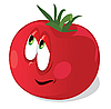 Vector clipart: Fun tomato