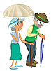 Vector clipart: Senior Citizens