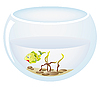 Vector clipart: fish in aquarium