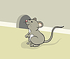 Vector clipart: Funny mouse
