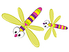 Cartoon dragonfly | Stock Vector Graphics
