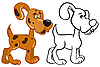 Vector clipart: Dog