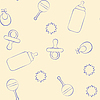 Vector clipart: Baby pattern