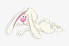 Vector clipart: bunny