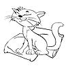 Funny cat | Stock Vector Graphics