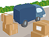 Vector clipart: Truck and cargo