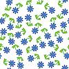 Nahtloser Blumenhintregrund   Stock Vektrografik