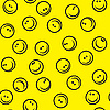 Seamless smileys background | Stock Vector Graphics