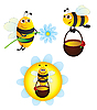 Bees | Stock Vector Graphics