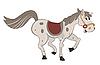 Векторный клипарт: Лошадь