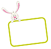 Frame with rabbit | Stock Vector Graphics