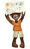 Niedźwiadek i rysunek | Stock Illustration