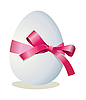 Egg and bow