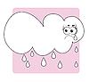 Vector clipart: weather rain