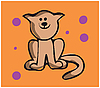Vector clipart: cat
