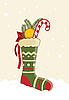 Vector clipart: Christmas Stocking