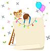 ID 3125699 | Einladung für Kinder-Party | Stock Vektorgrafik | CLIPARTO