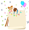 ID 3125699 | Children party invitation | Klipart wektorowy | KLIPARTO