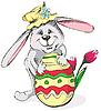 Easter rabbit | Stock Vector Graphics