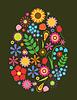 Kwiaty Pisanka | Stock Vector Graphics