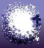 Векторный клипарт: Фиолетовый фон лето