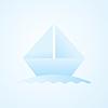Vector clipart: origami boat