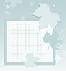 Vector clipart: Autumn school background