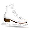 Vector clipart: White Skate