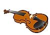 Векторный клипарт: Скрипка