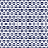 Vector clipart: Blue pattern